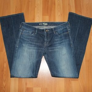 Express Sz 10L Boot Cut Jeans Blue Denim Pants
